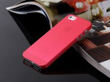 3Pcs Soft Ultra Thin 0.3mm Back Hard Case Cover Skin Protector For iPhone 5 5S