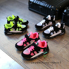 New Children Kids Casual Sneakers Boy Girl Trainer Sport Running Shoes Size