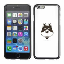 Hard Phone Case Cover Skin For Apple iPhone Vector Dog Icon