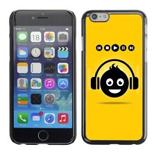 Hard Phone Case Cover Skin For Apple iPhone DJ Smiley Face Symbol