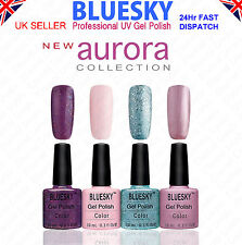 Bluesky New Aurora Collection & others - Soak Off UV LED Nail Gel Polish - 10ml