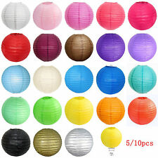 "Lot of 5/10 PCS OF 8""Chinese Paper Lantern Wedding Party Decoration Lamp Shades"