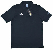 Adidas Real PR POLO 2 Real Madrid Leisure Football POLO shirt black G86079 NEW