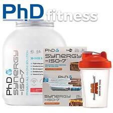 PhD Nutrition Synergy ISO-7 2kg + 12 x Synergy ISO-7 Bars + FREE Shaker
