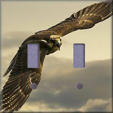 Hawk Flying High Light Switch Plate Cover Wall Decor