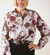 Pure Silk patterned Blouse