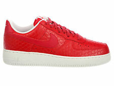 NEW MENS NIKE AIR FORCE 1 LV8 BASKETBALL SHOES TRAINERS ACTION RED / SUMMIT WHIT
