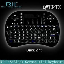 RII I8+ Mini Wireless QWERTY Keyboard Touchpad Mouse Combo with LED Backlight