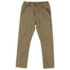 Junior Boys Designer Lee Cooper Woven Zip Fly Chinos Cotton Trousers