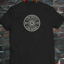 BICYCLE TRUE WHEELS BIKE CYCLING ROAD MOUNTAIN Mens Black T-Shirt