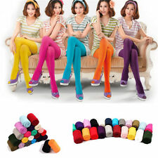 Fashion Women's Candy Colors Stockings Opaque Socks Tights Stretch Pantyhose