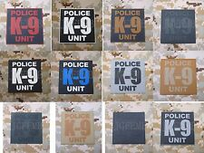 POLICE K-9 UNIT BEAR CLAW K-9 DOG Morale of tactical military 3D PVC Patch