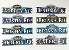 Your Name Personalized Street Sign US Tourist Locations Childs Room Man Cave