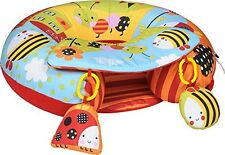 Red Kite Sit Me Up Inflatable Activity Baby Play Ring In Garden Gang