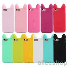 For iPhone 7 7 Plus Shockproof Candy Ko Ko Cat Silicone Rubber Soft Case Cover