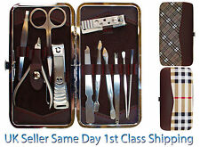 Unisex Grooming Kit Nail Clipper Manicure Pedicure Ear Pick Gift Pack Set