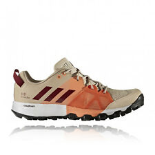 Adidas Kanadia 8 Womens Orange Sand Running Sneakers Sports Shoes Trainers
