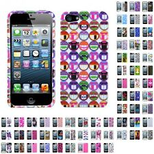 For Apple iPhone 5/5S/SE Design Snap-On Hard Case Phone Cover