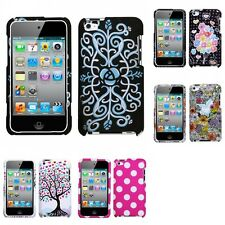 For Apple iPod Touch 4th Gen Design Snap-On Hard Case Phone Cover