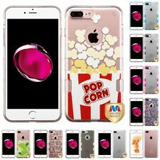 For Apple iPhone 7 Plus [5.5] TPU Hard Case Skin Phone Cover