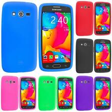 For Samsung Galaxy Avant G386 Silicone Rubber Soft Skin Case Cover Accessory