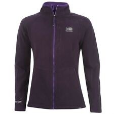Ladies Branded Karrimor Long Sleeves Outdoor Warm Zipped Fleece Jacket