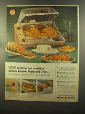 1959 General Electric Rotisserie Oven Ad