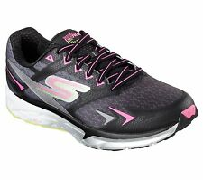 Skechers Go Run Forza Womens Running Shoe- 14105- Black/Hot Pink -Pick Size- NIB