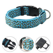 Pet Walking Leash Rope Belt LED Flashing Dog Harness Light Walking Lead Safety