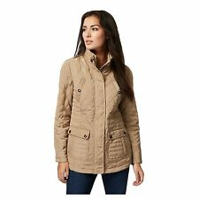Maine New England Womens Taupe Quilted Jacket From Debenhams