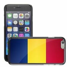 Hard Phone Case Cover Skin For Apple iPhone romania national flag country flag
