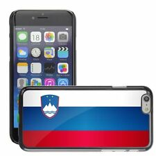 Hard Phone Case Cover Skin For Apple iPhone slovenia national flag country flag