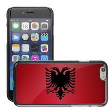 Hard Phone Case Cover Skin For Apple iPhone albania national flag country flag