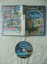 42678 Pop Idol Official Video Game - Sony Playstation 2 Game (2003) SLES 51825