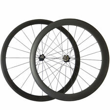 38mm+50mm Clincher Carbon Wheels Carbon Road Bike Bicycle Racing Wheelset