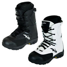 HMK Team Lace Insulated Waterproof Winter Snow Snowmobile Boots