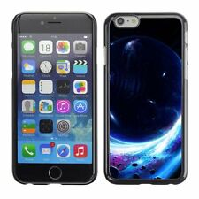 Hard Phone Case Cover Skin For Apple iPhone Planet in front of black hole
