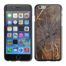 Hard Phone Case Cover Skin For Apple iPhone Spider web net on a branch