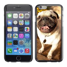 Hard Phone Case Cover Skin For Apple iPhone Happy smile of a small dog