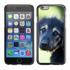 Hard Phone Case Cover Skin For Apple iPhone Charming black puppy
