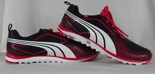 NEW Women's Puma FAAS Lite Spikeless Golf Shoes ECO OrthoLite Black/Pink Size 10