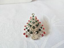 Silvertone and Goldtone Christmas Pin/Brooch - Choose your Design