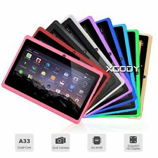 XGODY 7'' INCH Tablet PC Kids Android 4.4 A33 Quad Core 8GB HD WiFi Bluetooth UK