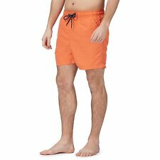 Maine New England Mens Orange Basic Swim Shorts From Debenhams