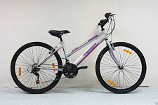"Tiger 26"" Wheel Ladies Mirage Mountain Bike Silver BNIB RRP £199.99"