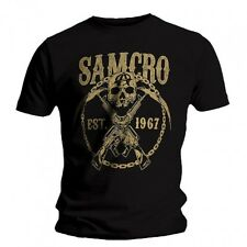 T-shirt Sons of Anarchy - Samcro Chained