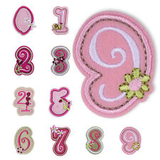 Embroidered Applique Iron Sew On Patch DIY Clothes Patches Accessories NO. 0-9