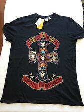 H&M Licensed GUNS N ROSES Apetite For Destruction T-Shirts NEW XS, S, M, L, XL