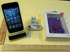 Apple iPod Touch 4th Gen Black 8GB Flawless Touchscreen Fully Functional +Bundle