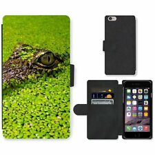 Phone Card Slot PU Leather Wallet Case For Apple iPhone Crocodile spies in the w